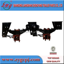 semi trailer BPW type suspension set 2-axle/ 3-axle/ 4-axle suspension