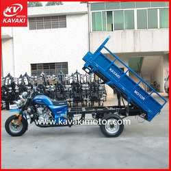 2015 hot sale motorized water cooling engine Africa cargo tricycle for adult for sale