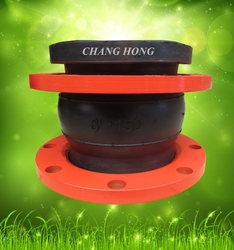 Manufacture pipe clamp with rubber joint