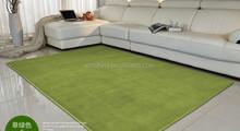 Customized manufacturers wholesale bedroom living room solid coral velvet carpet