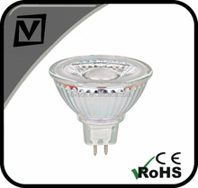 12v 5w mr16 led spotlight,replace 60w halogen bulbs,cool white 6000K