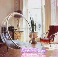 top quality latest cheap clear acrylic hanging bubble chair
