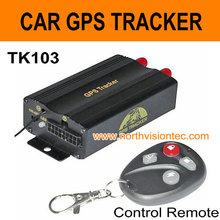 GPS vehicle tracker/vehicle GPS tracker with web based TK103 GSM GPRS GPS tracker