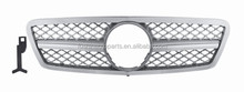 Front Grille for Mercedes Benz C class W203 SL Silver Grille 2000-2006