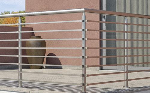 SUS304/316 스테인레스 스틸 막대 난간 시스템 난간 디자인 데크 ...