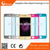 2015!hot!Cell phone screen protector Colorful tempered glass screen protector for iphone 6