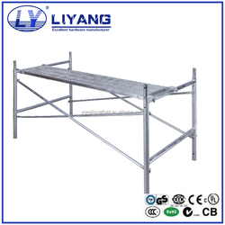 High quality Q235 steel ladder frame scaffolding for sale