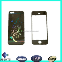factory wholesale latest coloured screen protector film for mobile, tempered glass screen protector for iphone