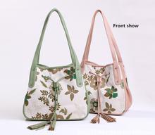 Novel Printing Women's Handbag Totes Custom Canvas Shoulder Bag
