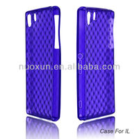 2013 Soft TPU Light and Handy for Sony Xperia IL Mobile phone case