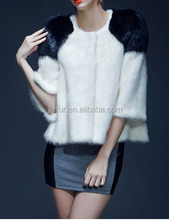 Hot Sale Mink Fur Coat with Top Quality Mink Pelt plate, mink fur skin