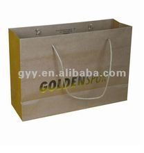 2012 GYY Golden foil stamping paper carrier bag
