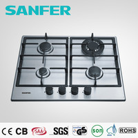 All kinds of shape available pan support auto ignition gas stove with stainless steel