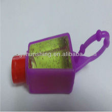 single color silicone perfume bottle holder for decoration