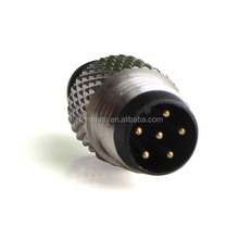 6pins connector m8 waterproof connector