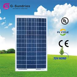 Customers first 80w polycrystalline silicon solar panel module