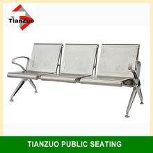 304 Stainless steel bench, airport seating, outdoor chair WL600-03