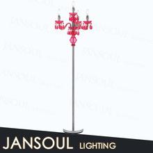 zhongshan fancy decorative classic cheap modern crystal chandelier light floor standing lamps