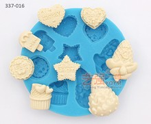 silicone ice cream cookie cake mould,fondant cake decorating tools,cooking mold