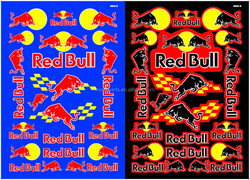 good quality Big size bull motorcycle sticker design for car body