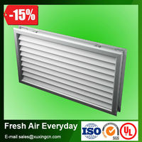 hvac anodized finished aluminum supply door air vent grille for hvac