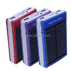 30000mah solar power bank solar panel power bank