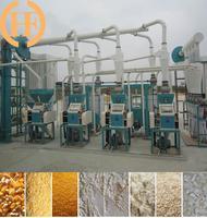 small corn milling machine, corn grits, corn meal mill