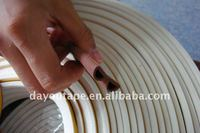 D profile brown color EPDM sealing tape/sealing stripe