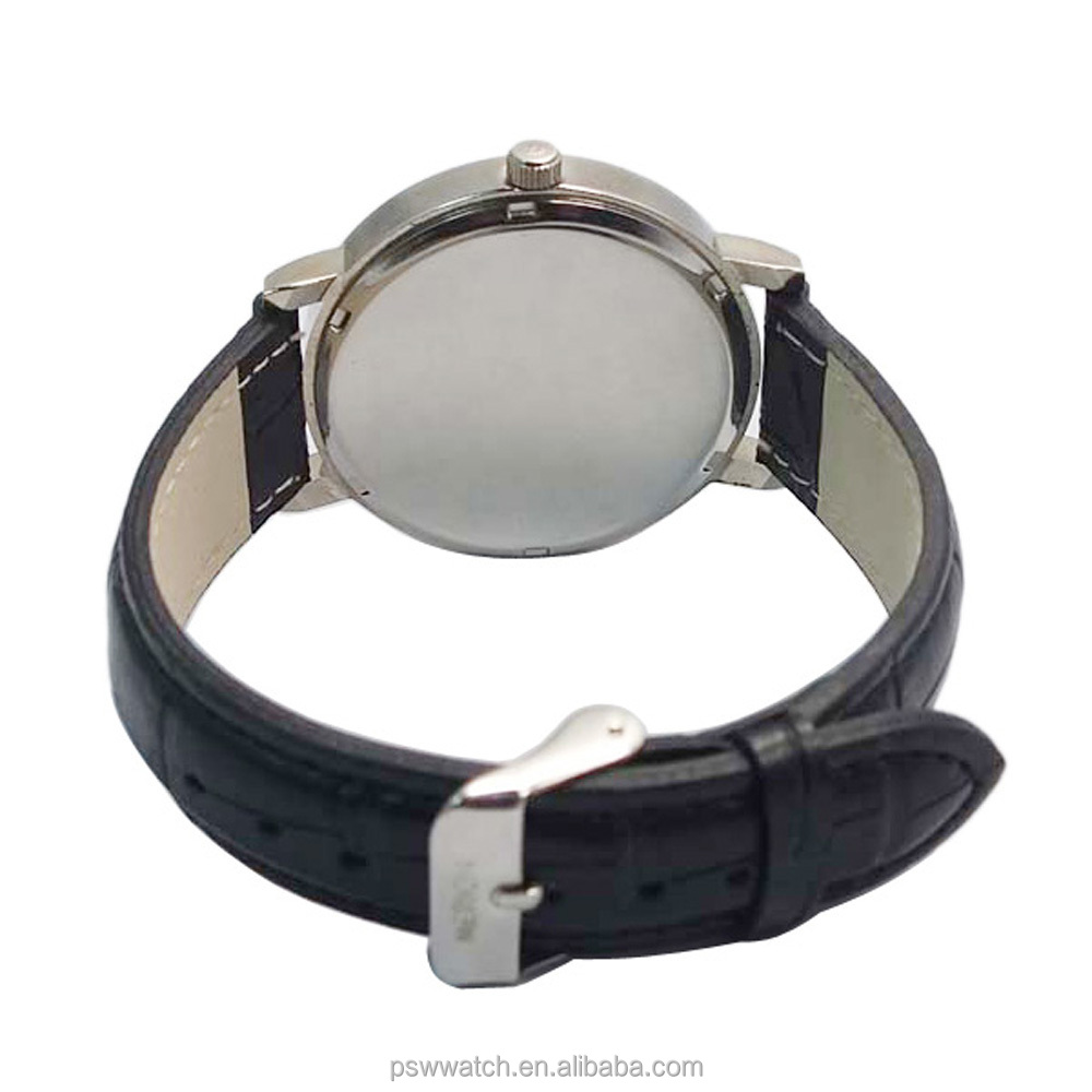 teen boys leather watch bracelet