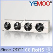 Dj série par évaporation refroidisseur d'air froid industriel chambre utilisé évaporateur avec quatre moteurs