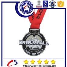 2015 high quality custom Die casting zinc alloy brass gold metal award medal