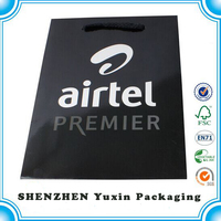 Luxury Printed customized Shopping Paper bag