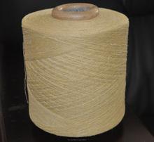 fabricación de hilados vender buena calidad pero el precio barato extremo abierto cardado reciclados hilo de tejer calcetines de