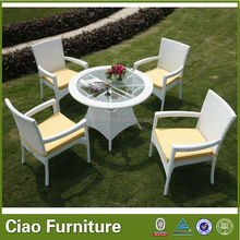2012 Hot sale Swing rattan outdoor table and chair