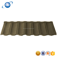 GKR-NC44 New Recyclable Building Material Colorful Stone Coated Metal Roofing Tile