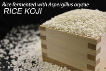 Japanese traditional fermented food ingredient - rice koji which can use for health food processing