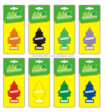 Customed Paper car air freshener with many patterms