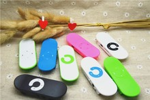 Special Skateboard Design MP3 Mini Music Player Digital Portable MP3 Player with SD/TF Card Slot