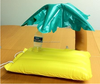 Custom Palm Tree Plastic Floating Inflatable Drink Holder