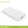 Alibaba Best Sellers New Slim Portable Mobile Charger 4000mAh