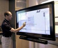 Best seller classroom lcd interactive touch screen smart board tv VGA/HDMI/DVI ce/rohs/fcc/ul certificate
