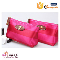 cheap polyester cosmetic bag wash bag toilet bag for girl