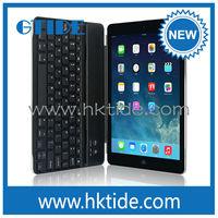 High quality mini wireless keyboard for apple ipad air Gtide KB658 smart keyboard cover
