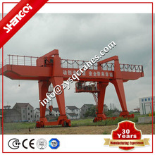 Light Equipment Load Goods Transfer Gantry Crane 10t Can Be Put Into 40 Container