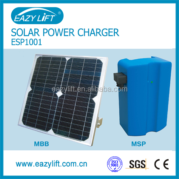 Solar Panel Charging Module For Garage Door Opener Amp Gate