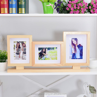 Three Sided Photo Frame, Birthday Cake Photo Frame