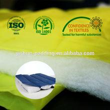Termo- en condiciones de servidumbre de guata de poliéster con oeko- tex certificación 100( bajo punto de fusión de fibra)