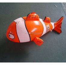 nemo fish promotional inflatable animal model for advertising promotion gift