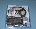 Smd5050 RGB faixa luz 5 M 60 Leds / M flexível tira conduzida toque remoto controlador 44 key + 6A Power