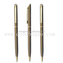 Hot new products for 2015 office supplies luxury pens heavy metal pens promotional ballpoint pen